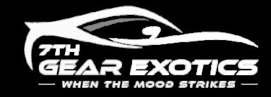 7th Gear Exotic Rental Logo
